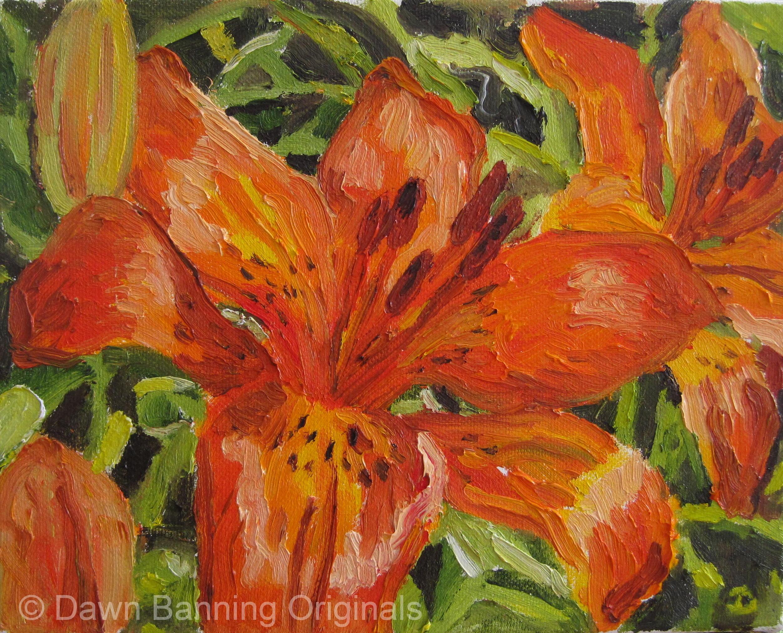 Dawn Banning Originals Original Oil Artist Lasalle Ontario