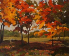 Autumn Park 20x24 oil