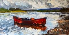 Canoe-18x36
