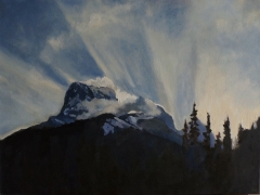 Mountain Light 18x24