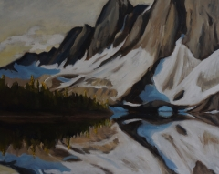 Rockies    24x30 Oil