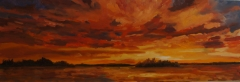 Summer Sunset ~ SOLD
