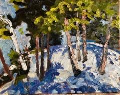 Winter 11x14 oil