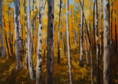 Autumn Forest Trail  4ft x 3ft