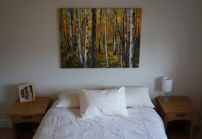Autumn forest bedroom copy jpg1 dawn originals for Large bedroom paintings